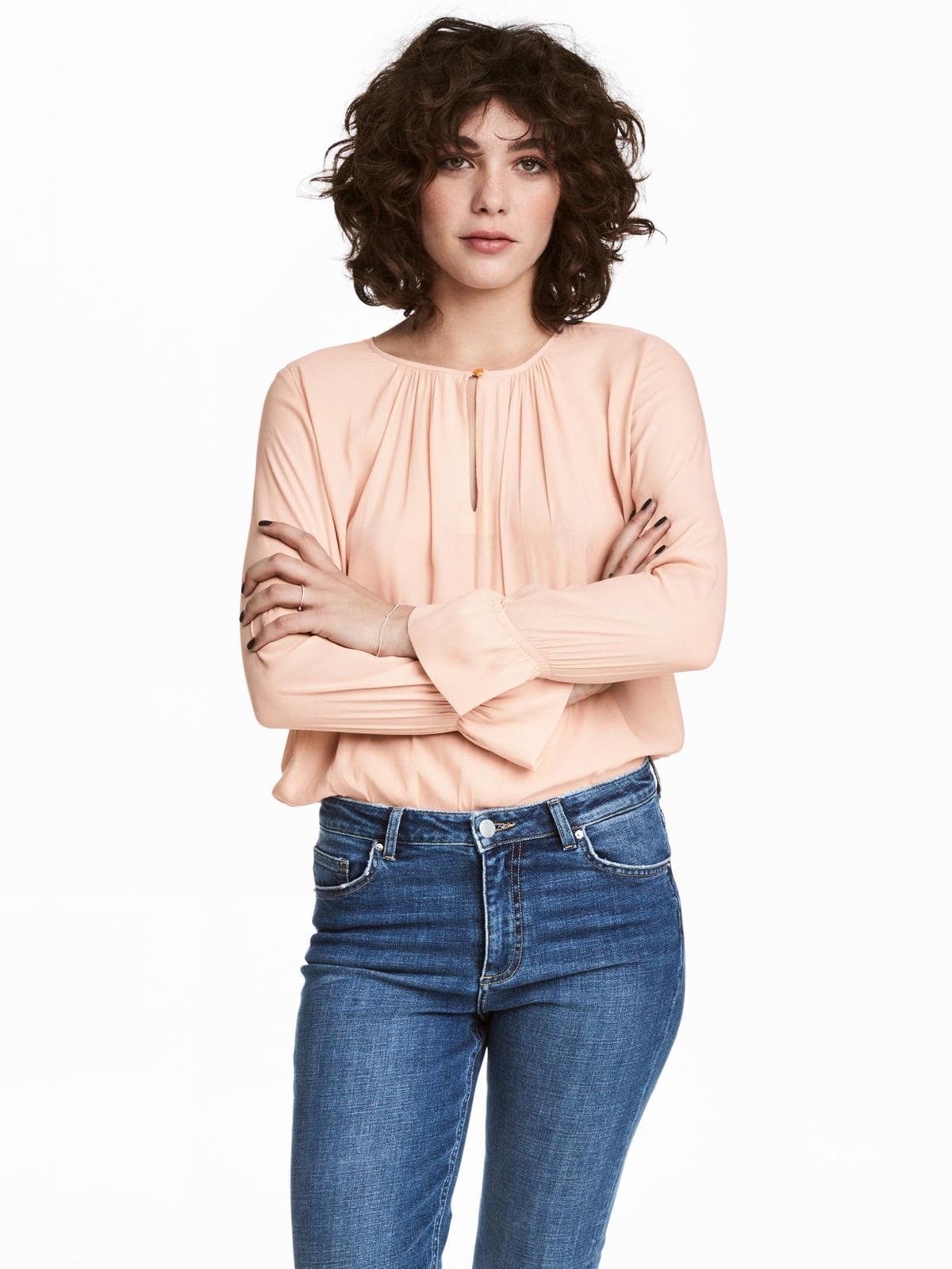 Блуза розовая   5045285