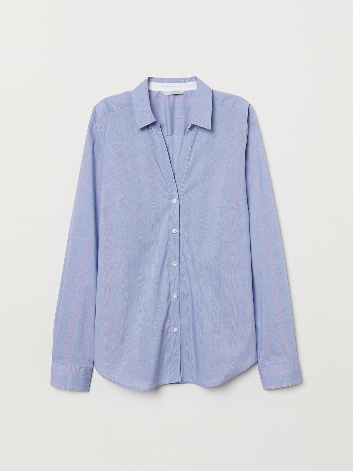 Рубашка синяя   5045396