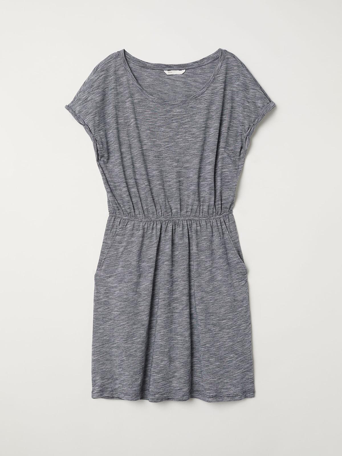 Платье серое | 5045563