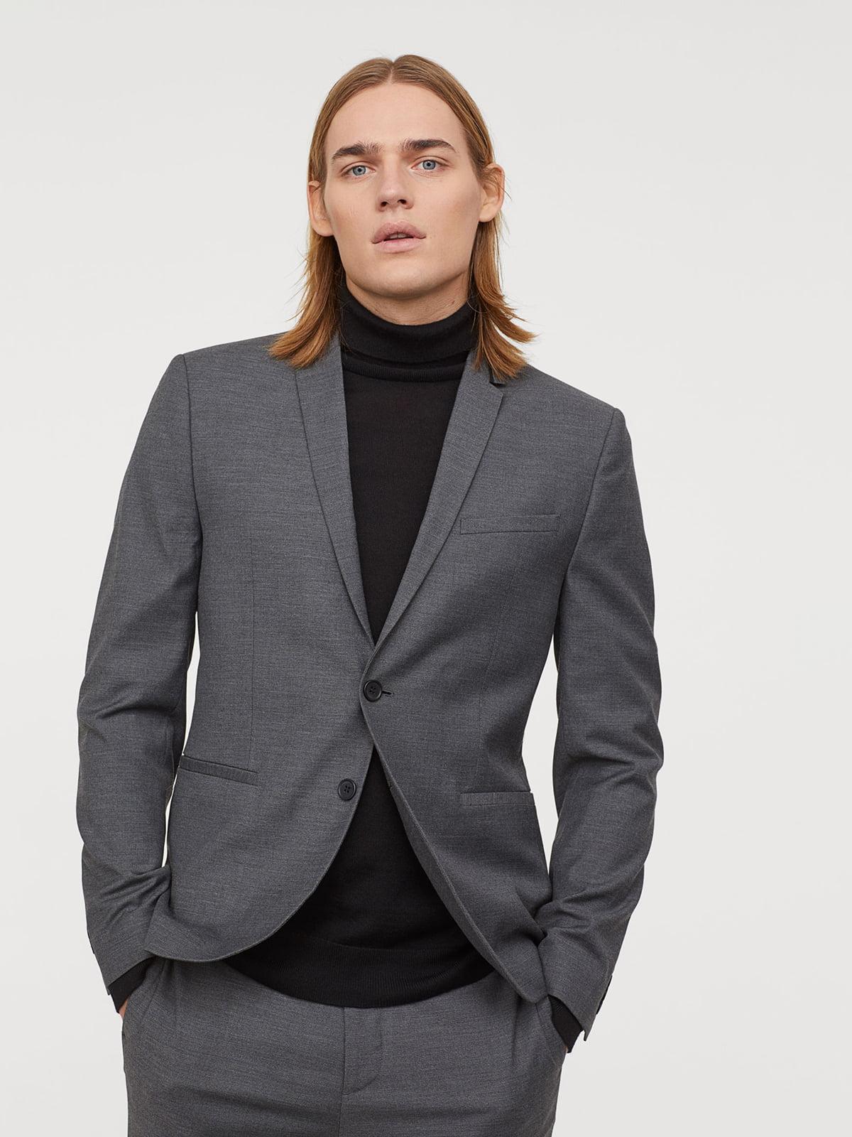 Пиджак серый | 5045736