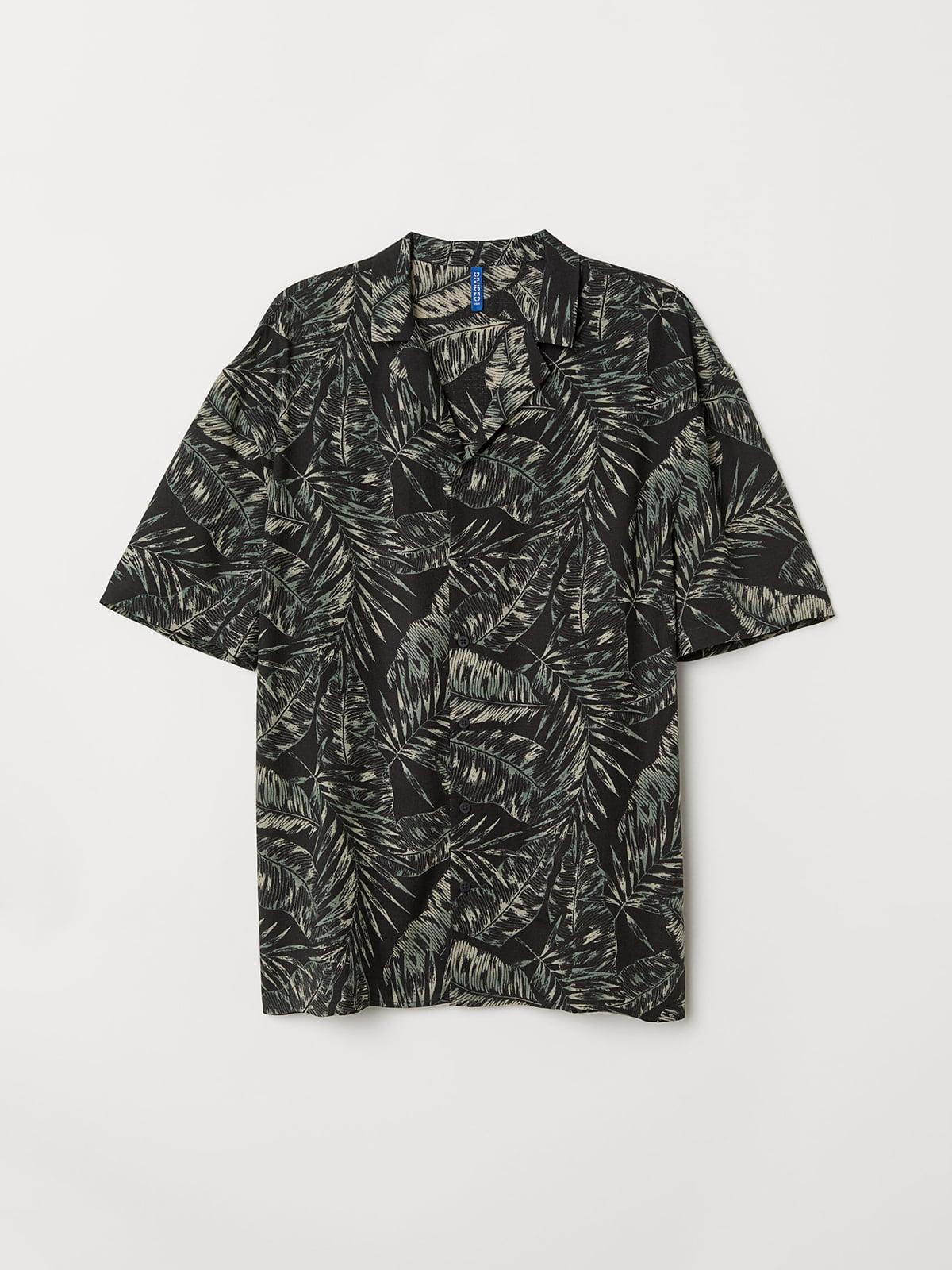 Рубашка в принт | 5045817