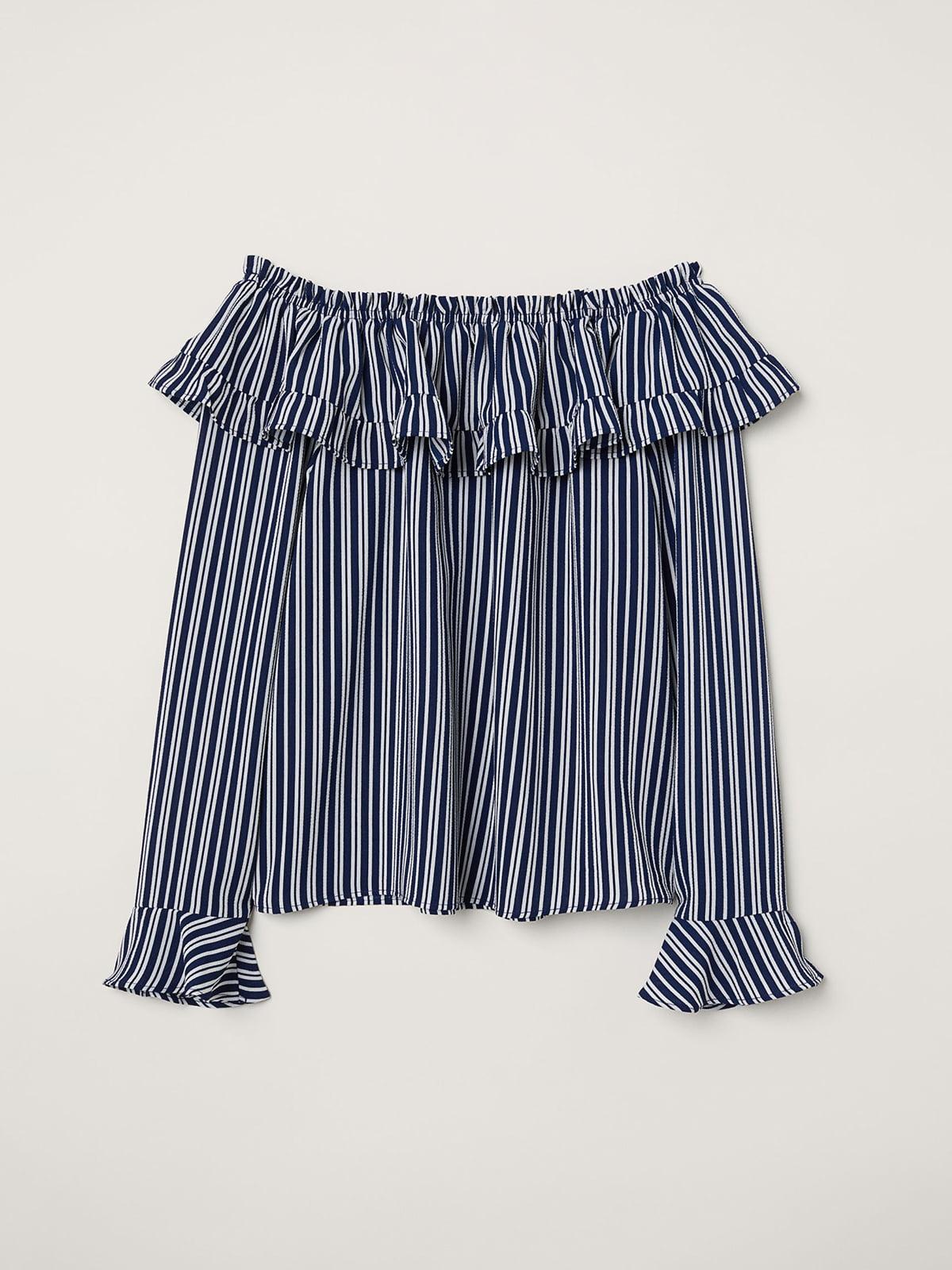 Блуза в полоску | 5045819