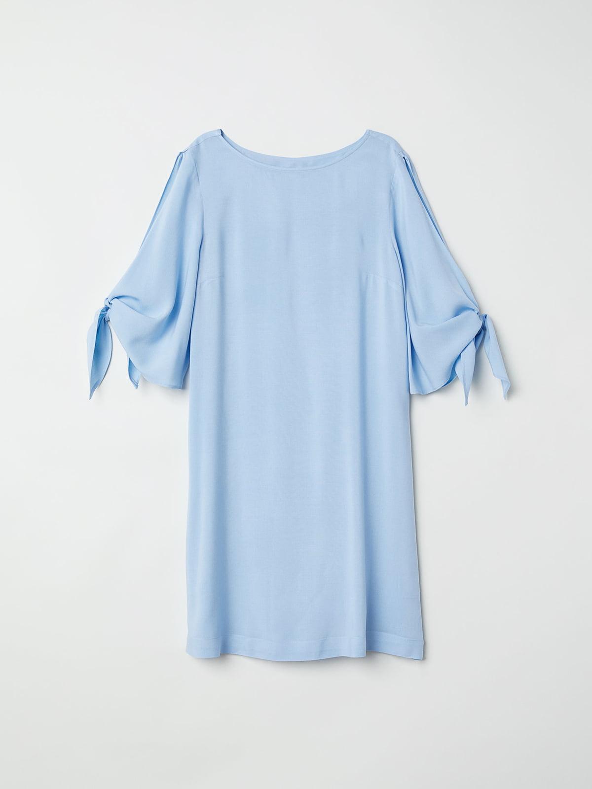 Платье голубое | 5045820