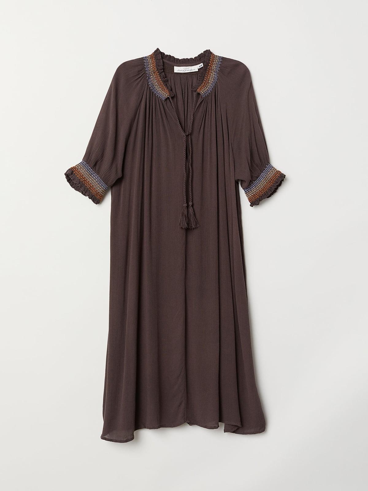 Платье коричневое | 5046050