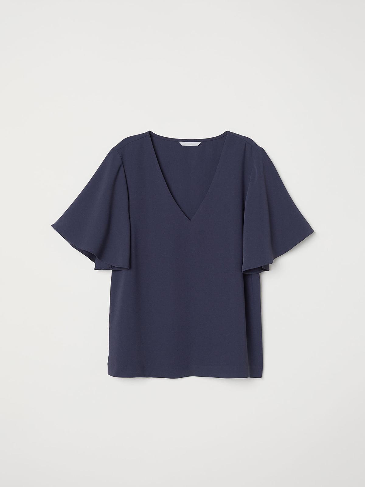 Блуза синяя   5046106