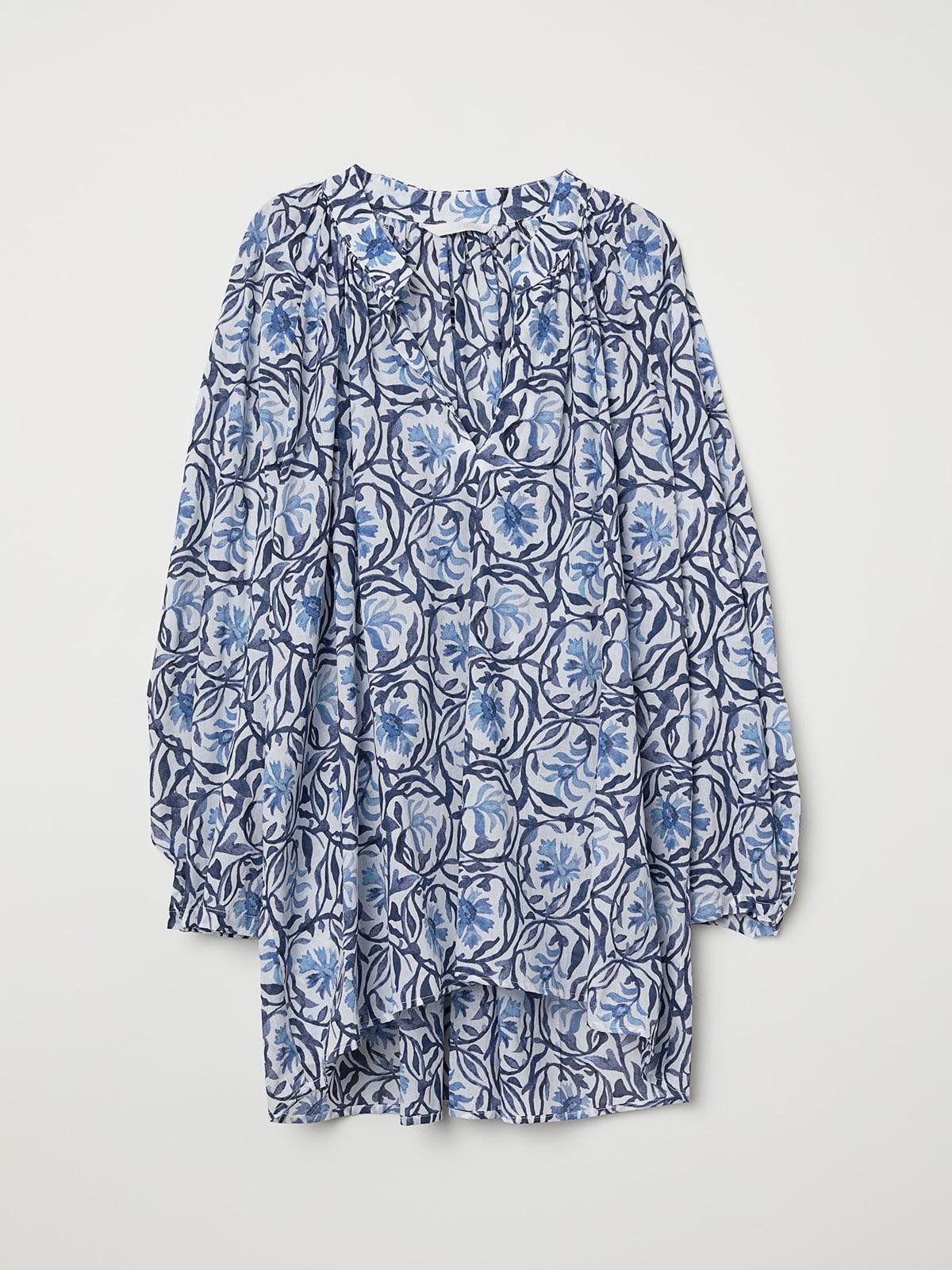 Блуза в принт | 5046129