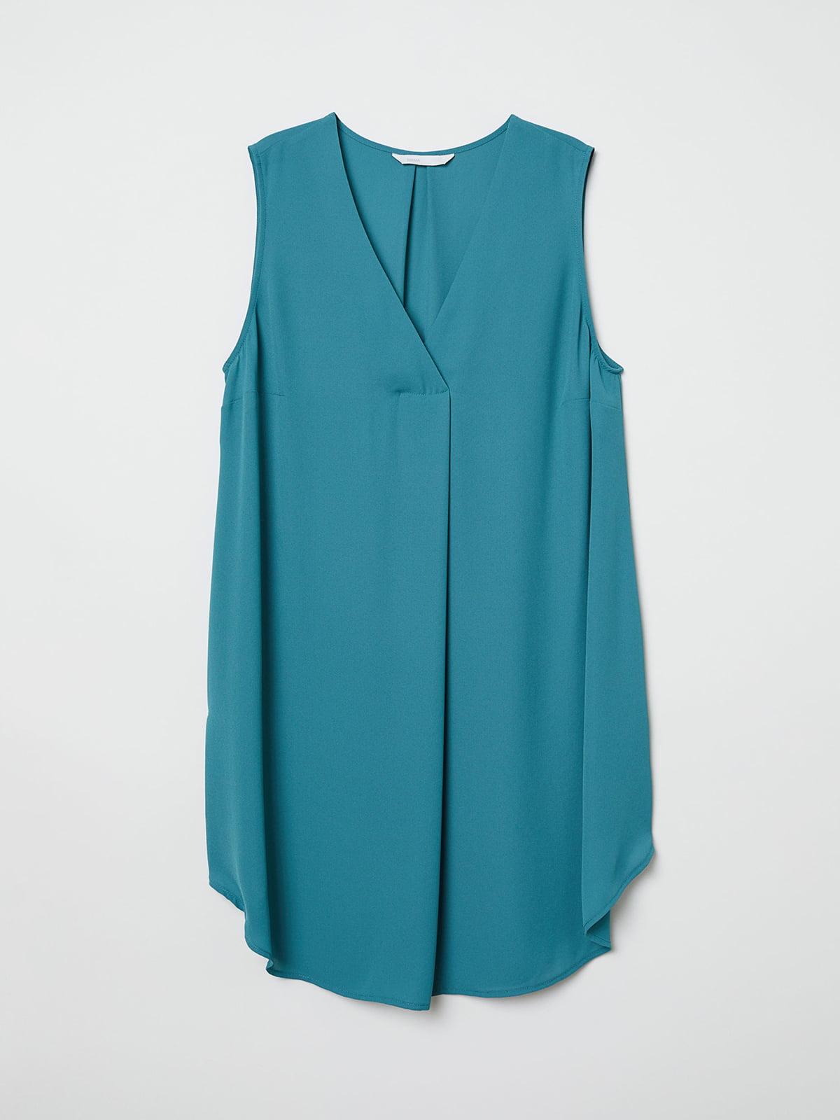 Блуза бирюзовая | 5046156