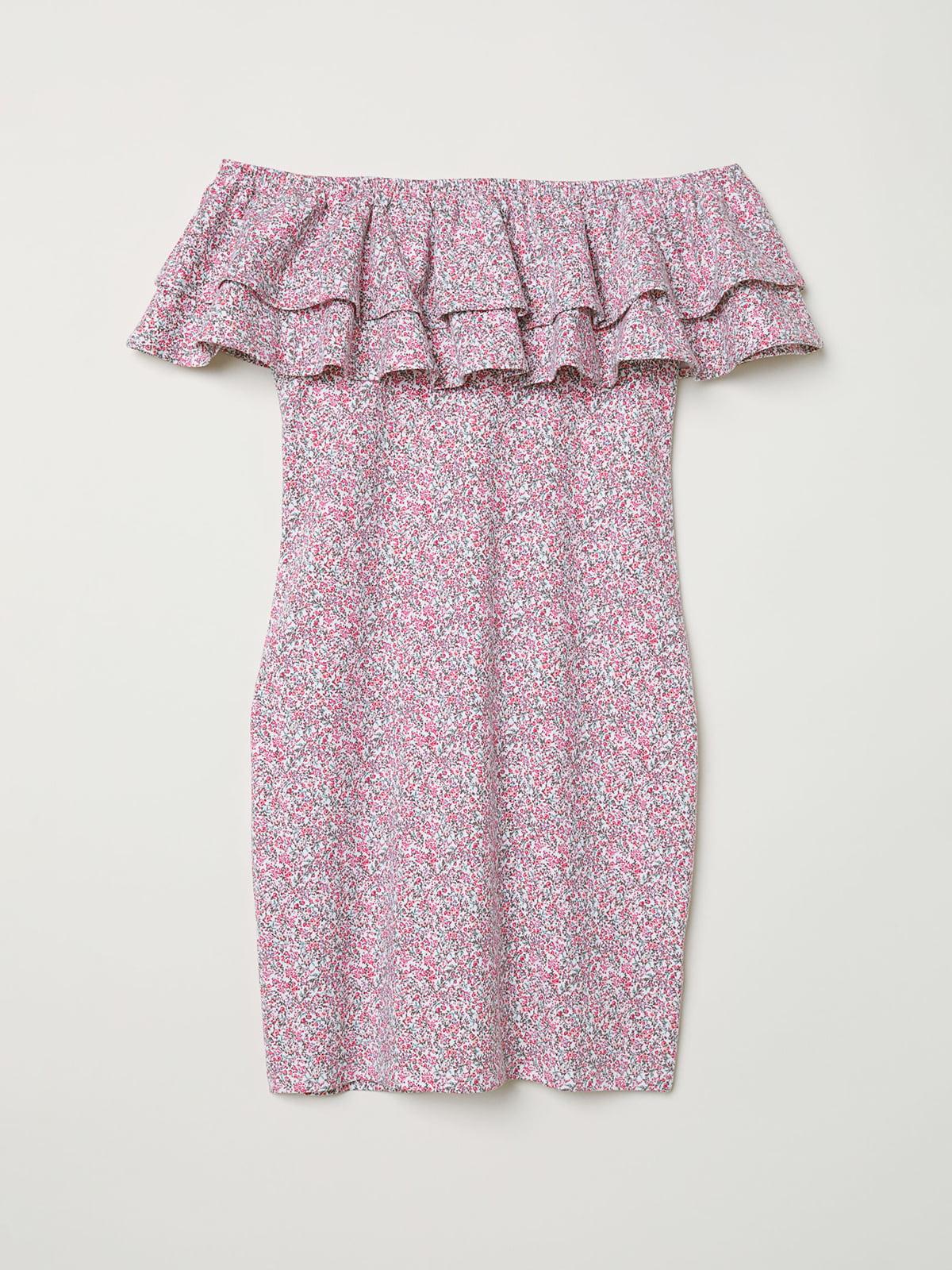 Платье в цветочный принт | 5046258