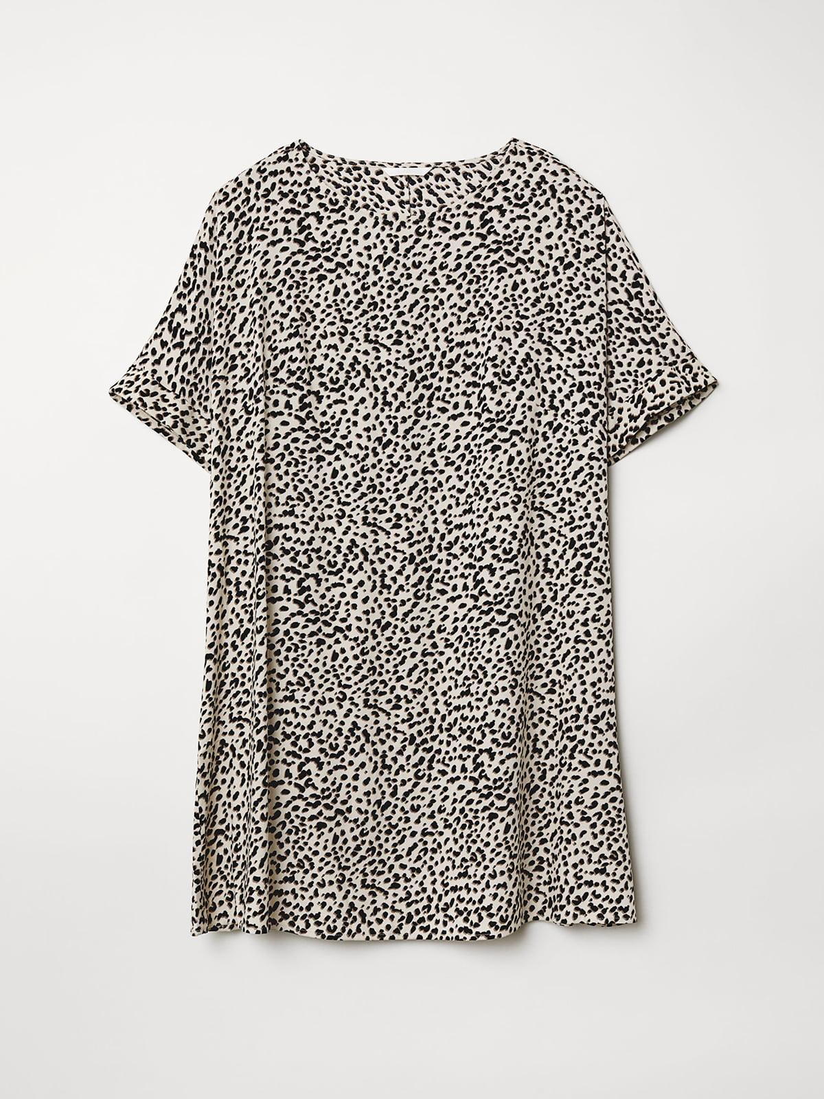 Платье анималистичной расцветки | 5046260