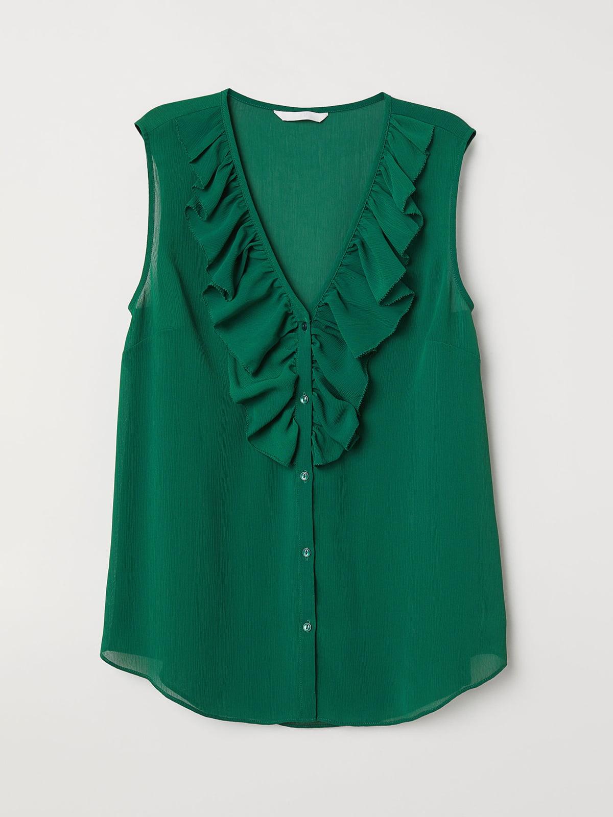 Блуза зеленая | 5046318