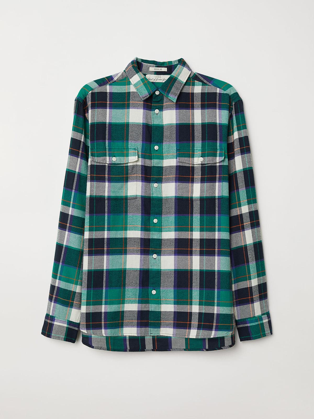 Рубашка в клетку   5046475