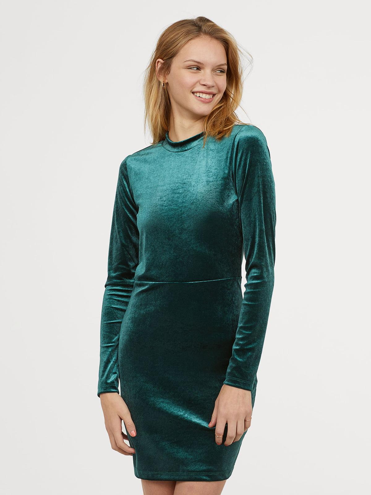 Платье зеленое | 5046539