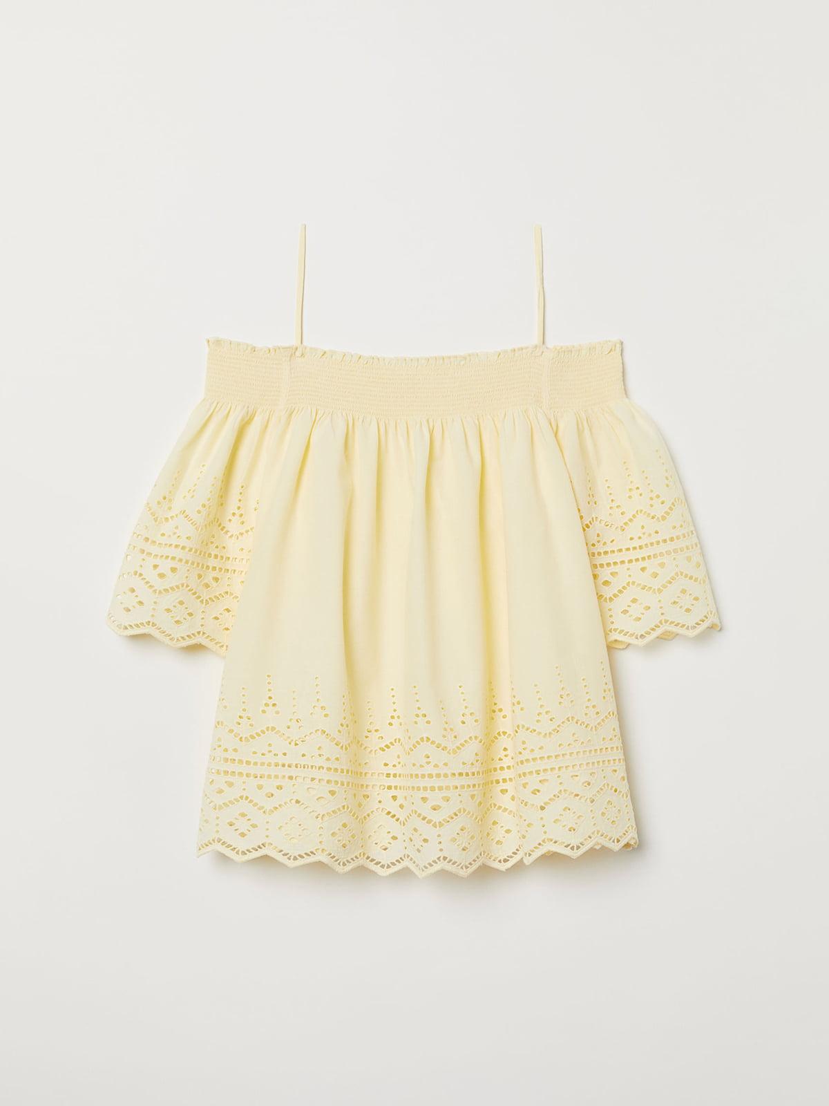 Блуза желтая | 5046617