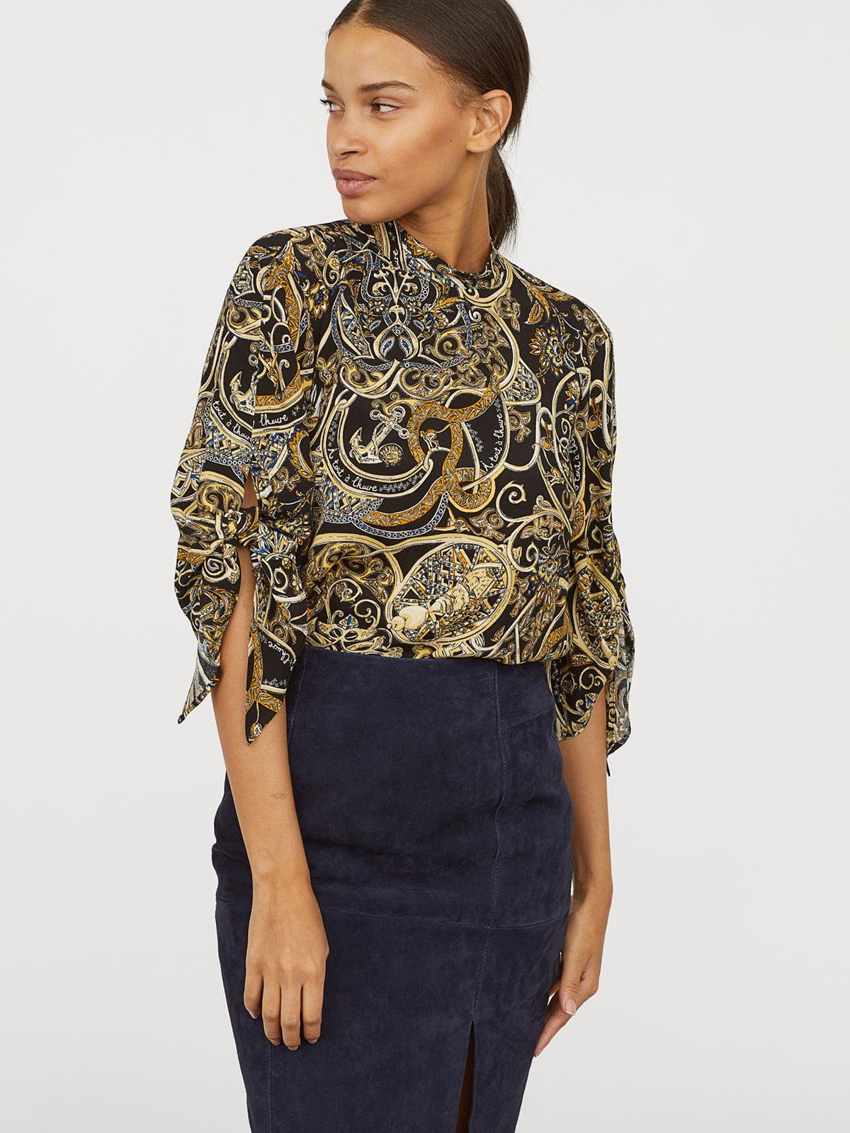 Блуза в принт | 5046636