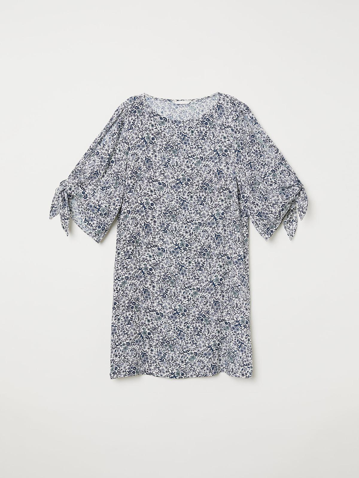 Платье в цветочный принт | 5046650