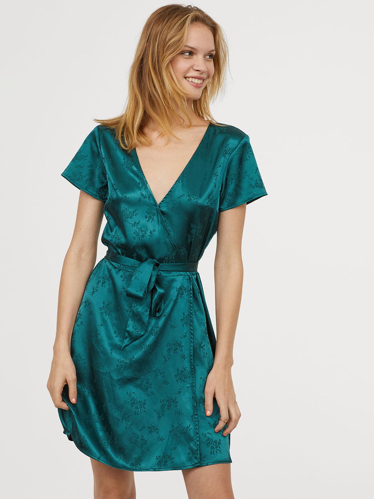 Платье зеленое | 5046746