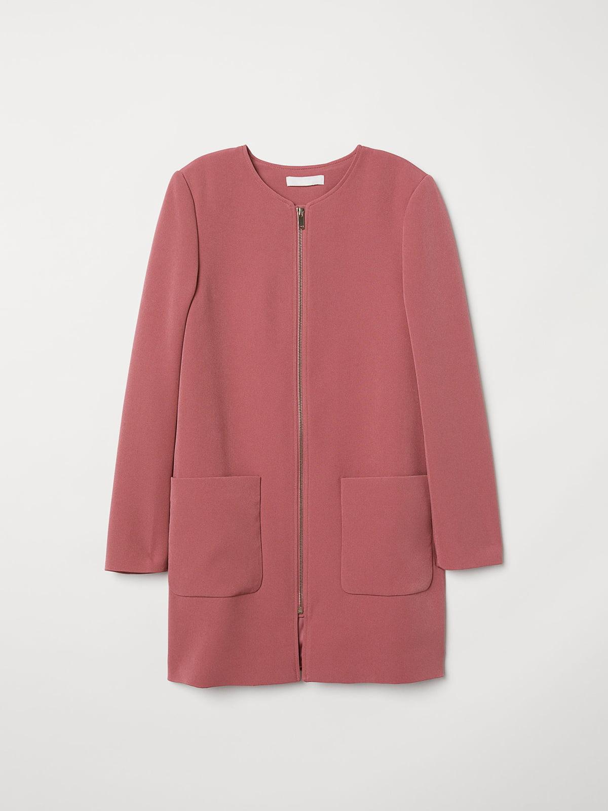 Пальто розовое | 5046927