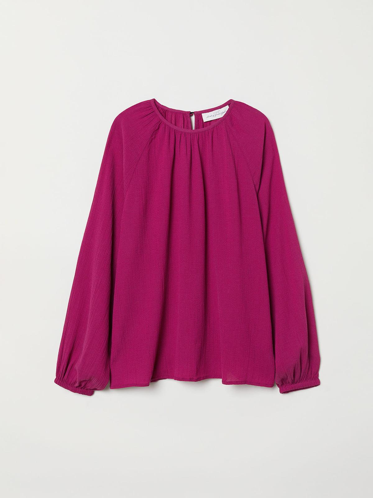 Блуза цвета фуксии   5047051
