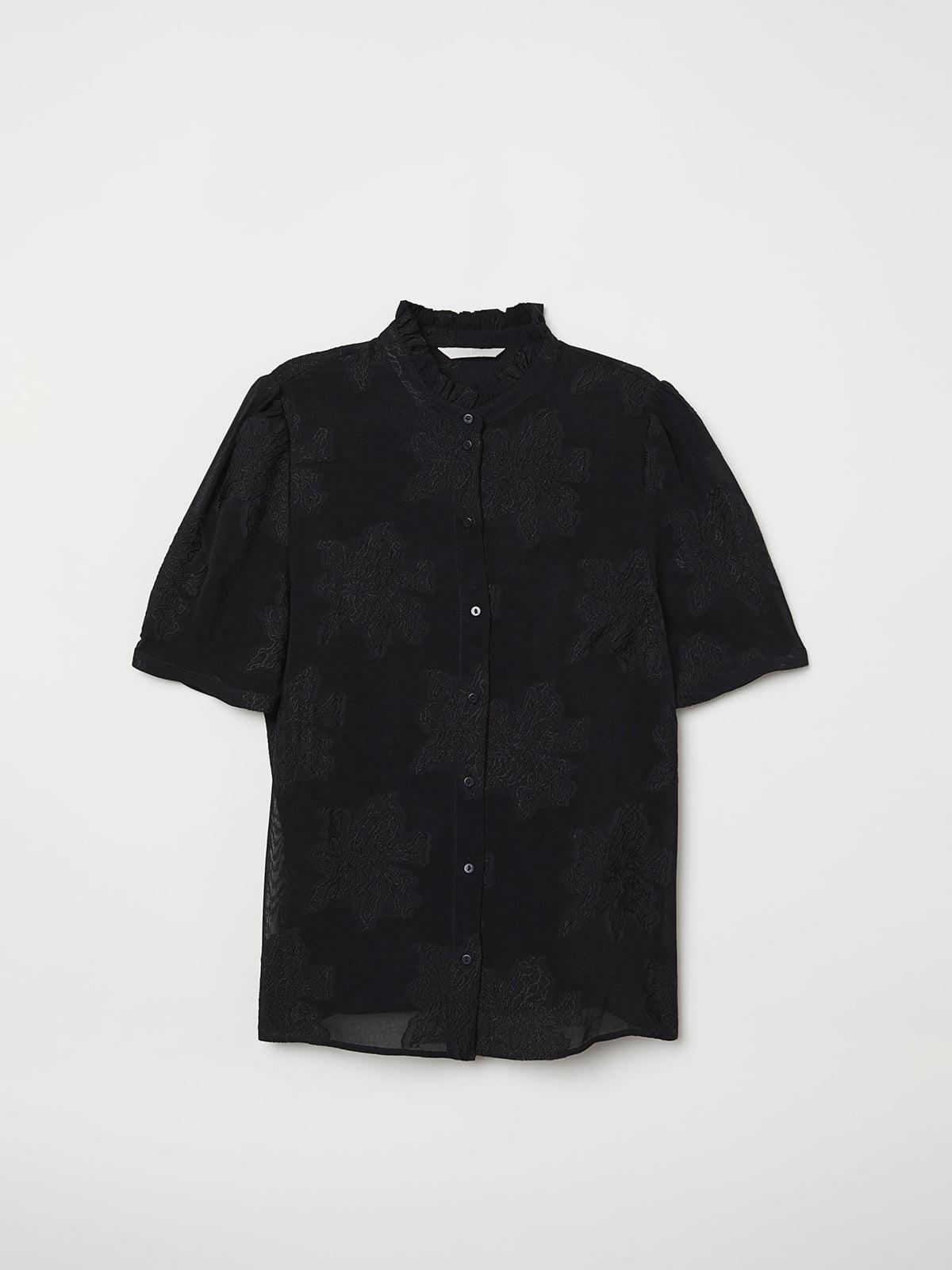 Блуза черная | 5047074