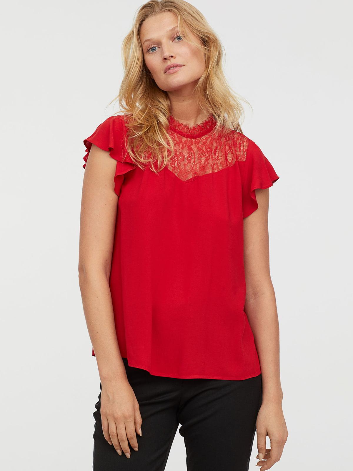 Блуза красная | 5047112