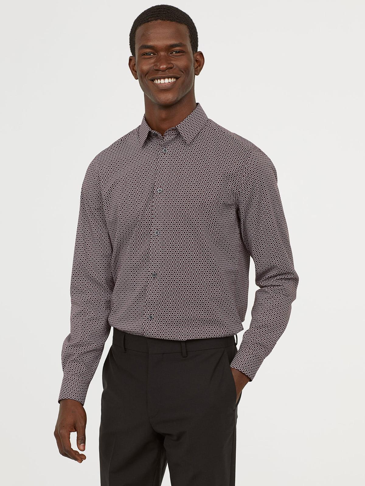 Рубашка в принт | 5047129