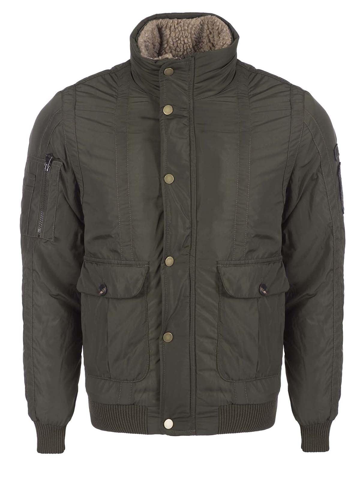 Куртка цвета хаки | 3420909 | фото 6