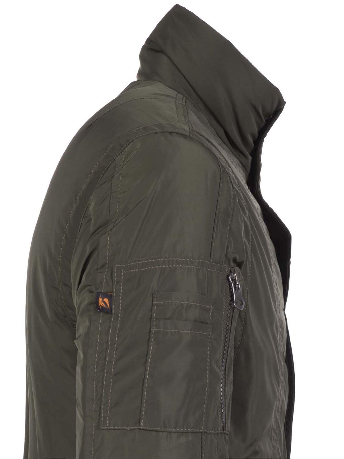 Куртка цвета хаки | 3420909 | фото 7