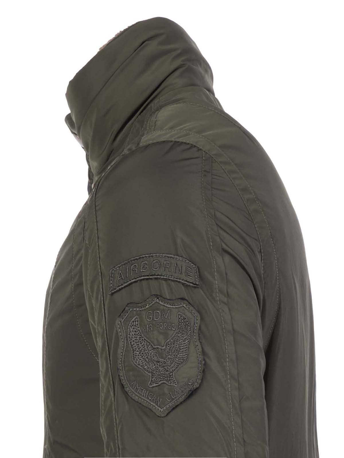 Куртка цвета хаки | 3420909 | фото 8