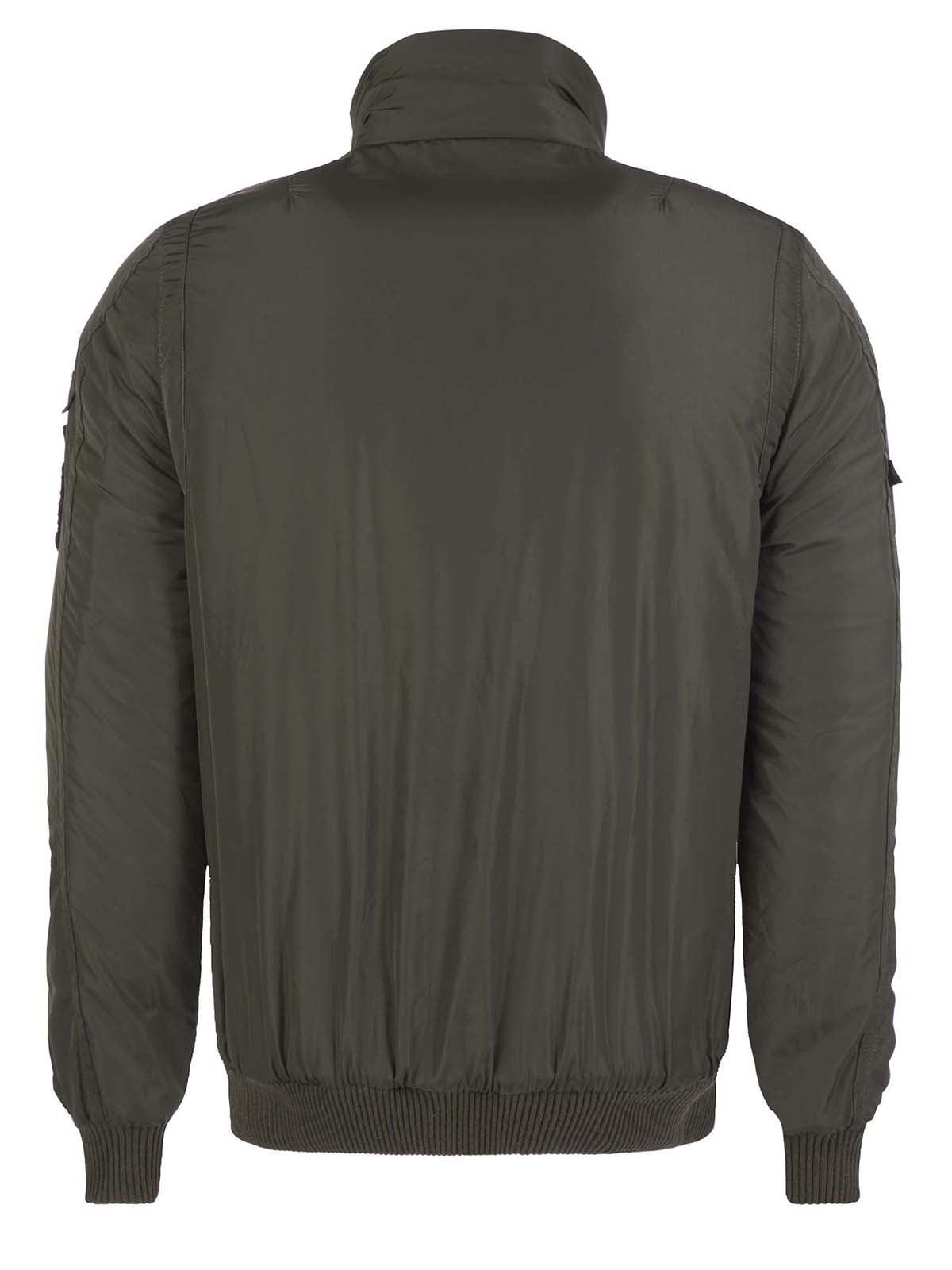 Куртка цвета хаки | 3420909 | фото 9