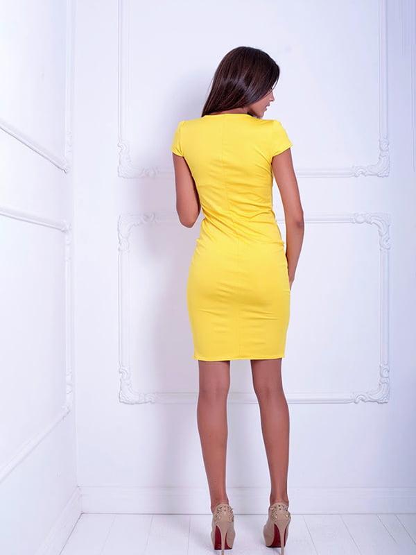 Платье желтое   5036448   фото 2