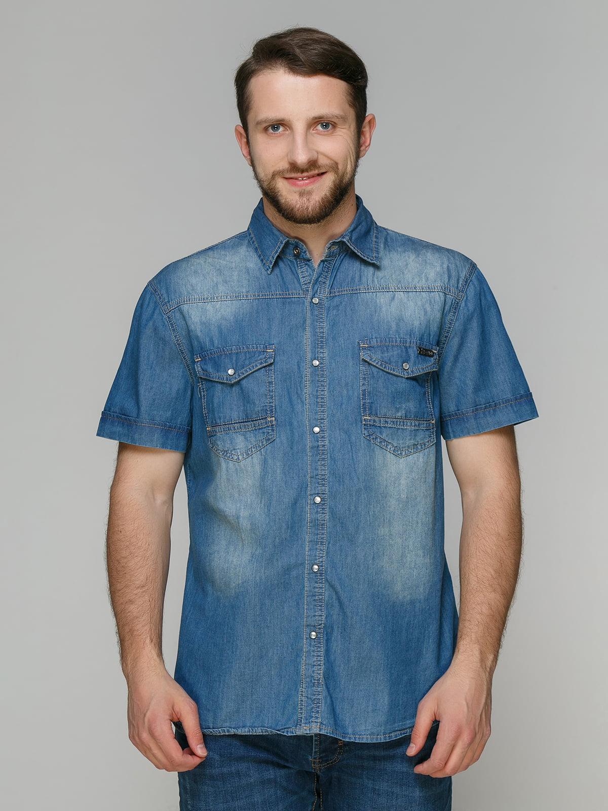 Сорочка синя | 4665290