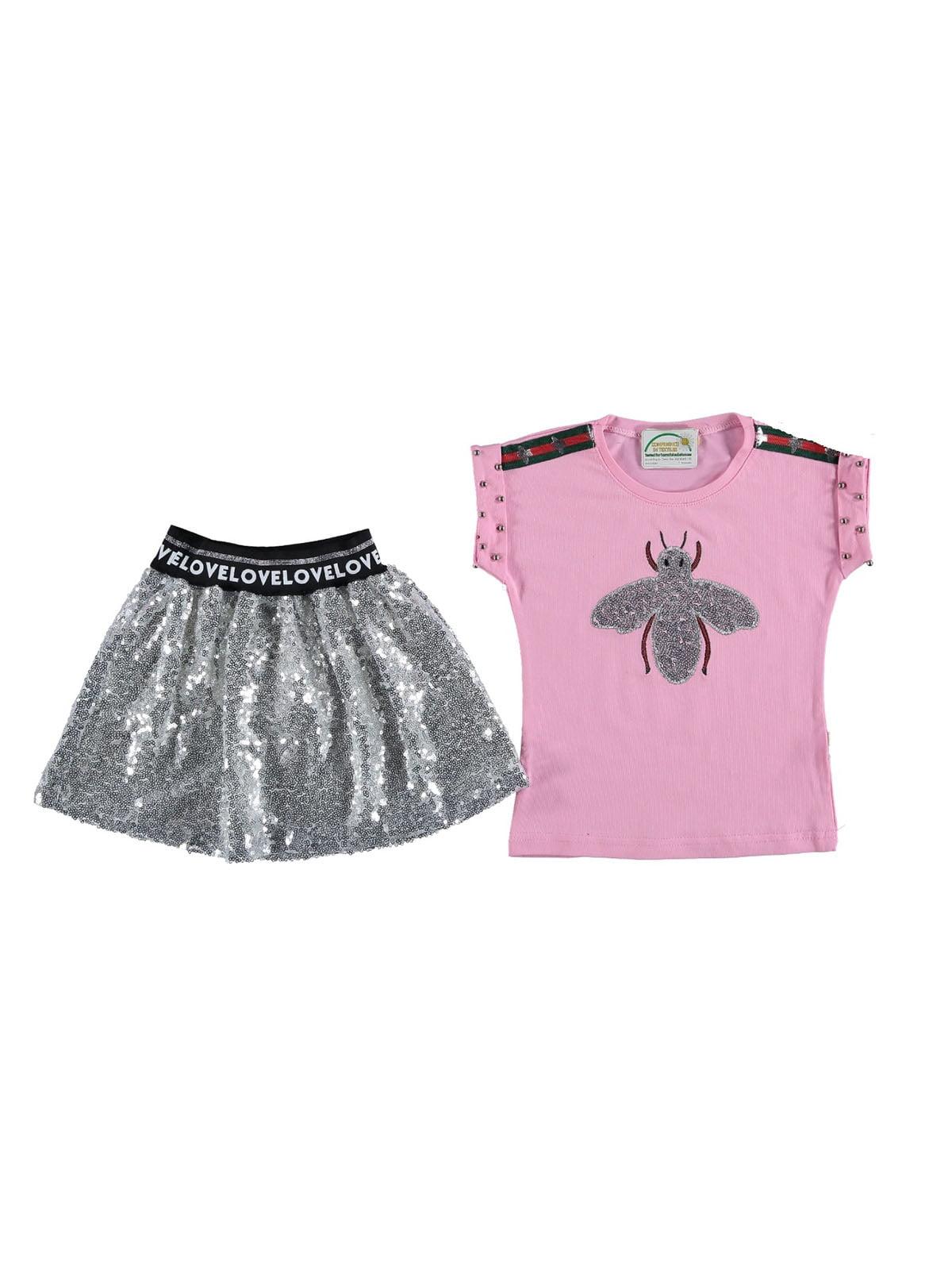 Комплект: футболка и юбка   5054625