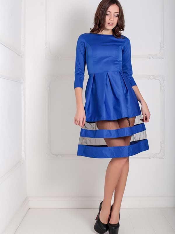 Платье синее | 5035500