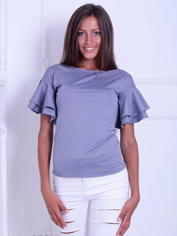 Блуза серая | 5036485 | фото 2