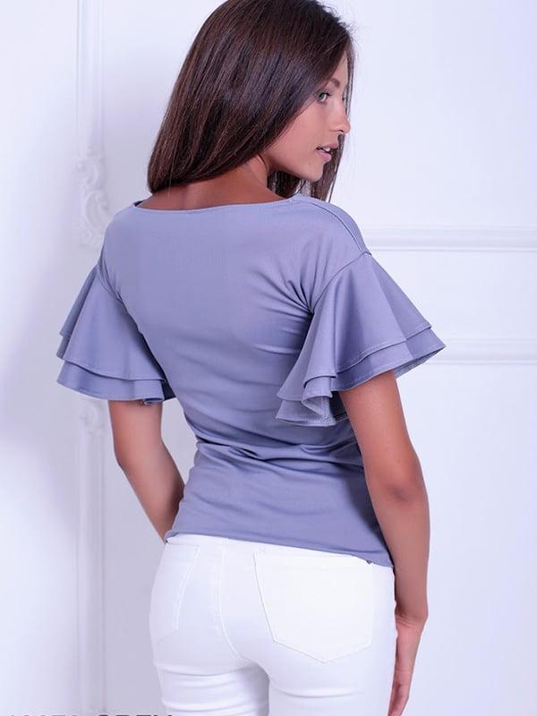 Блуза серая | 5036485 | фото 4