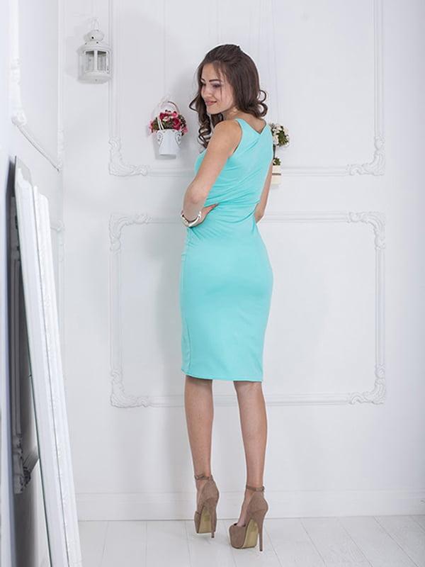 Платье мятного цвета | 5036409 | фото 4
