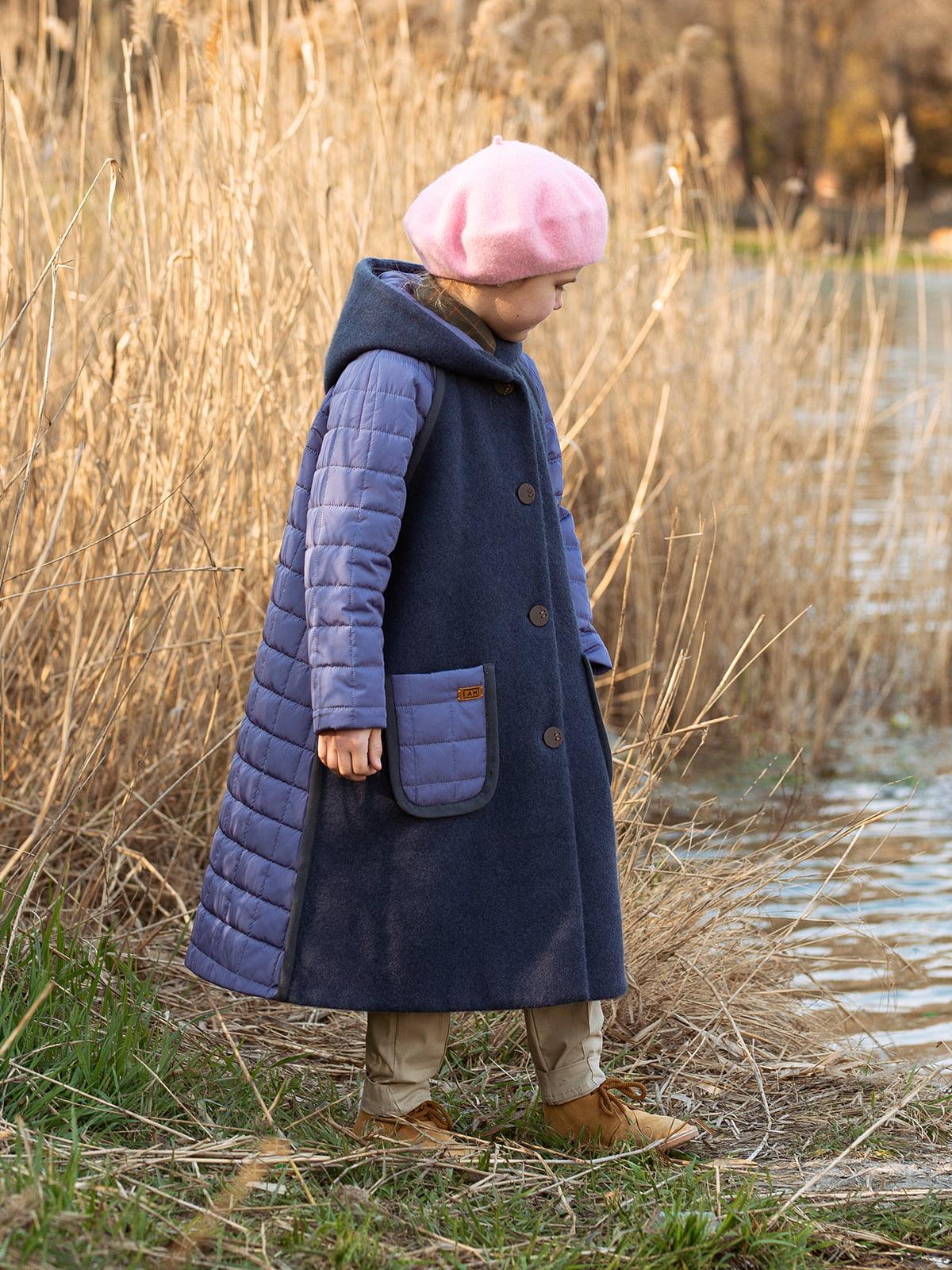 Пальто лавандового цвета | 5056684