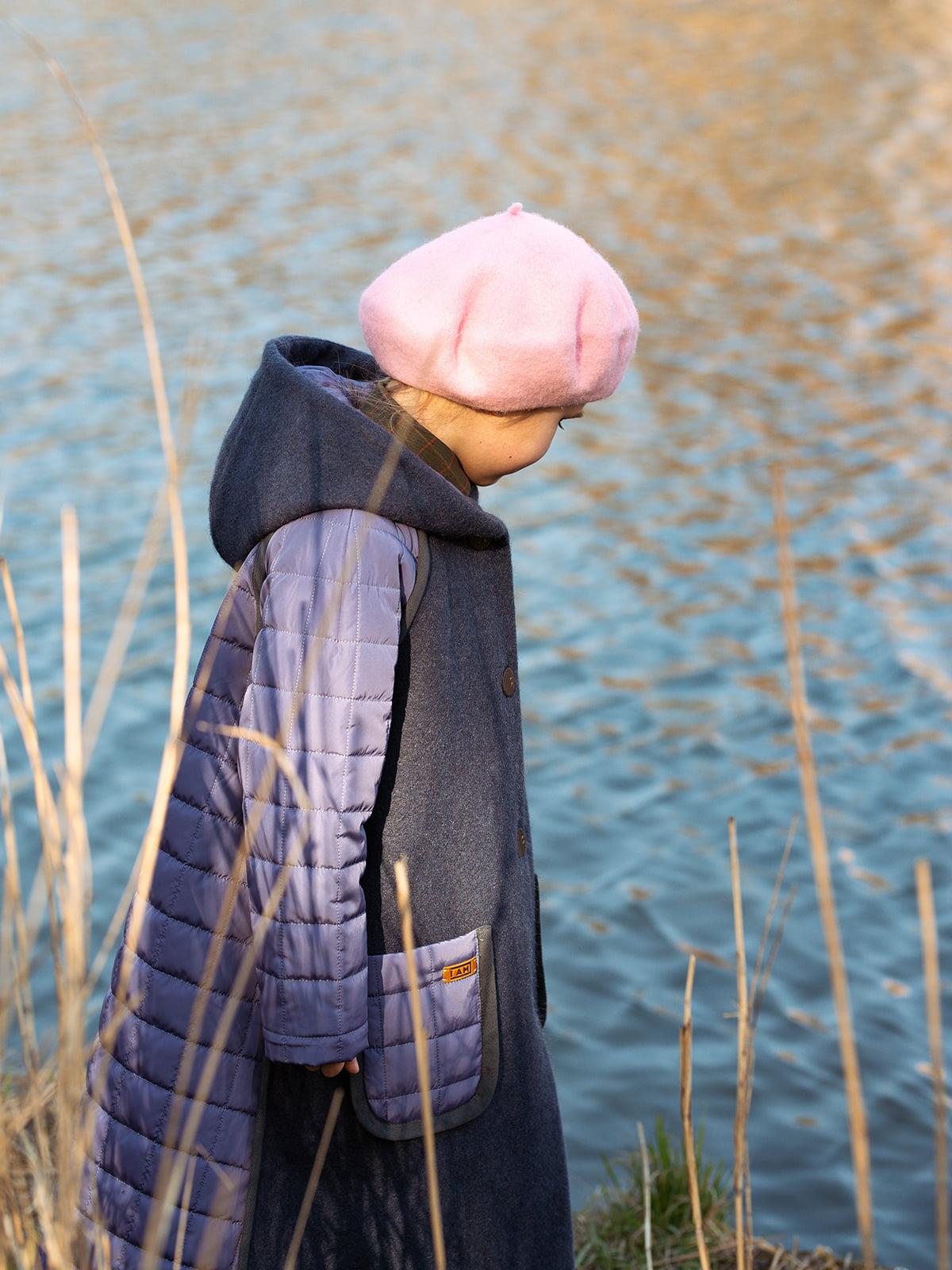 Пальто лавандового цвета | 5056684 | фото 2