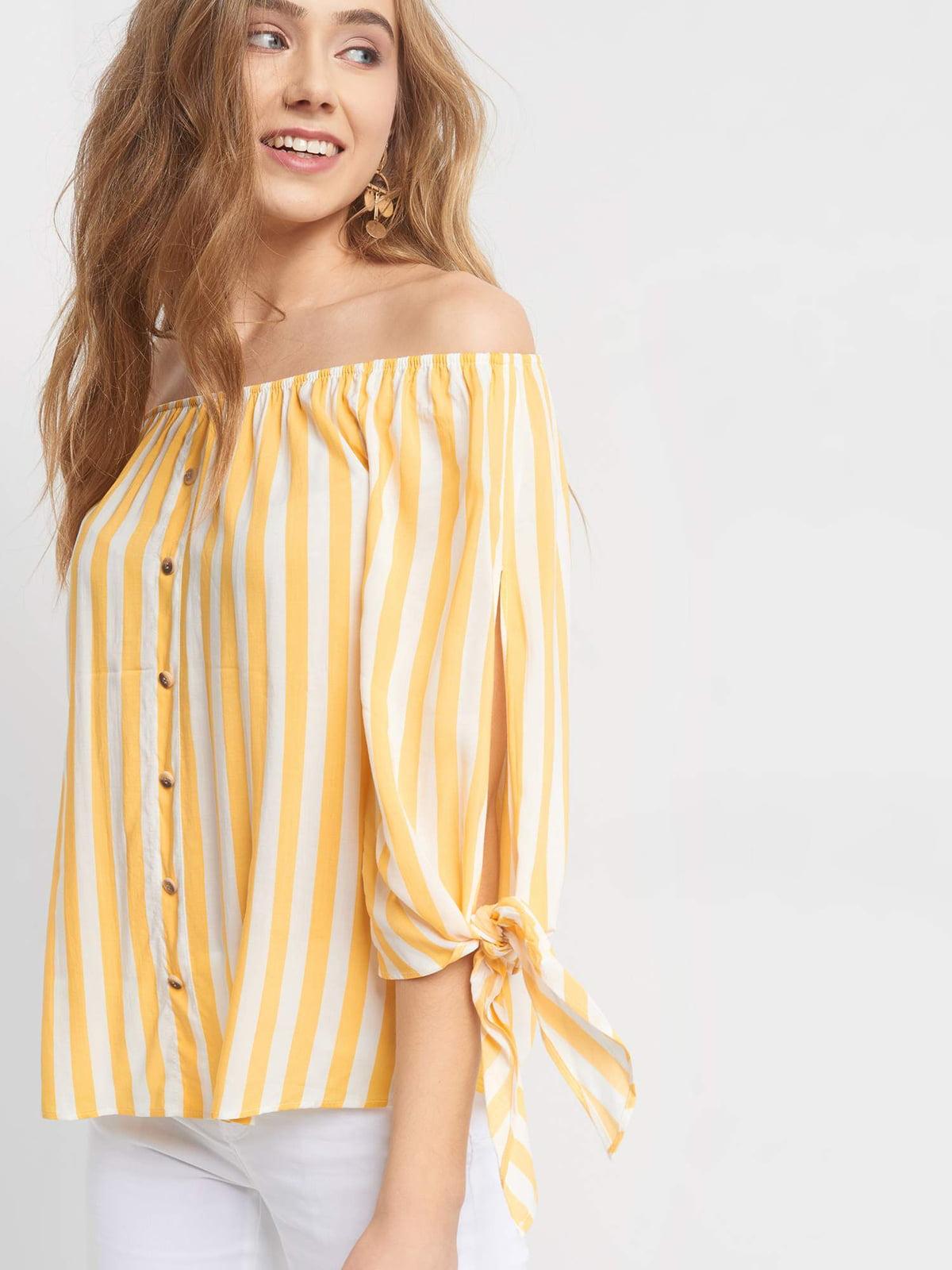 Блуза в полоску | 5056438