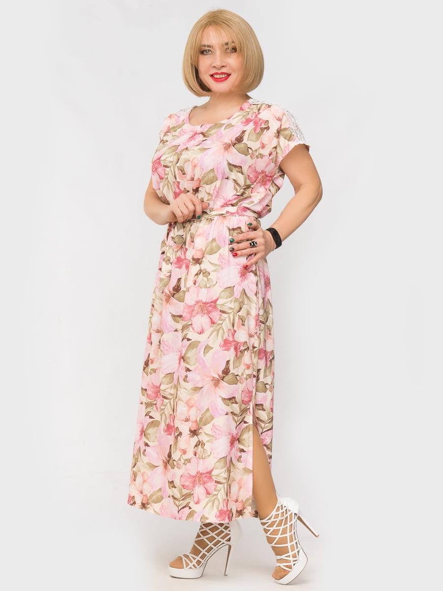 Платье в цветочный принт | 5057245