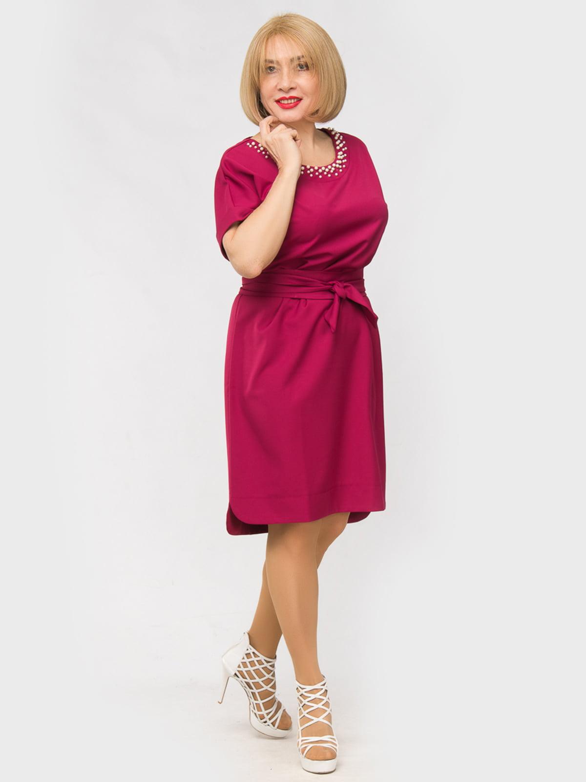 Платье цвета фуксии | 5057248