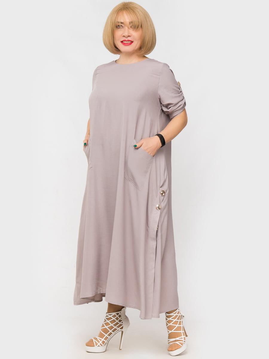 Платье серое | 5057260
