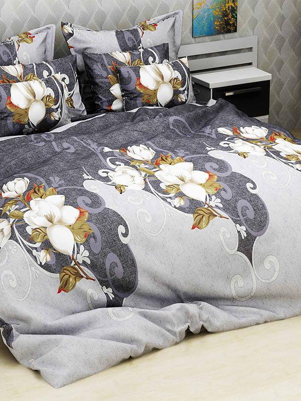 Комплект постільної білизни двоспальний (євро) | 4893350 | фото 4