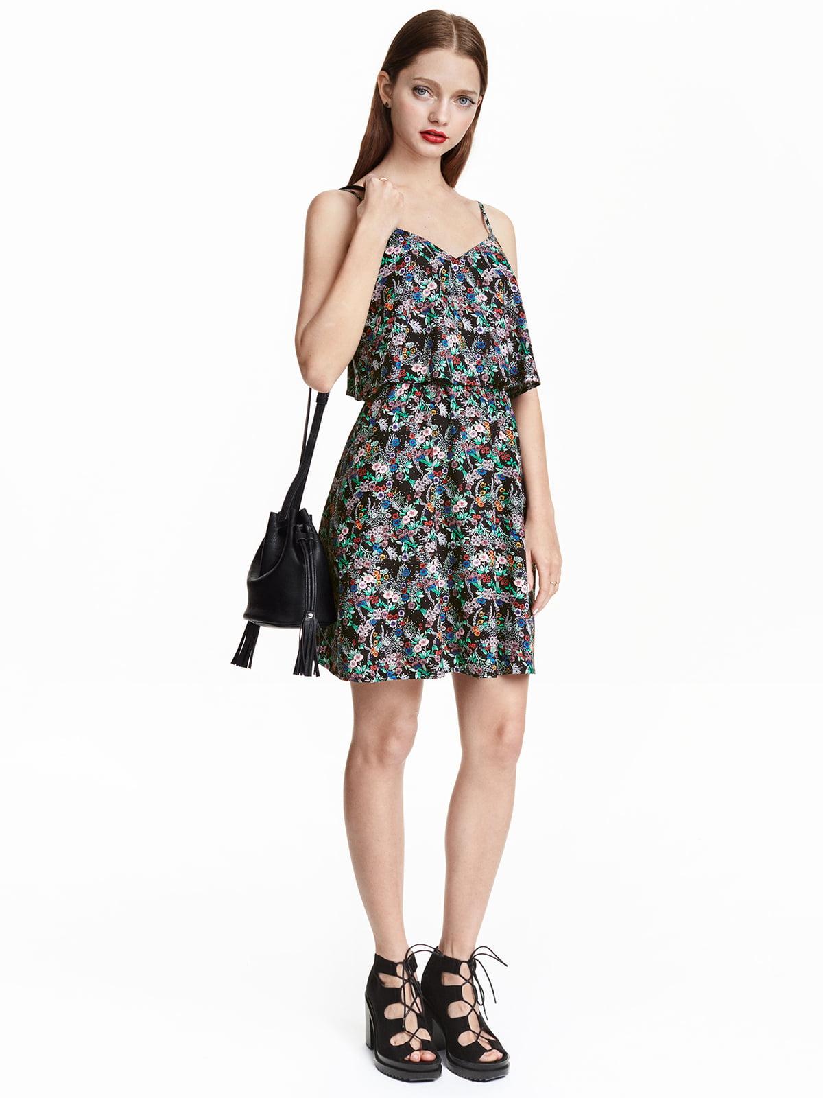 Платье в цветочный принт   5045023