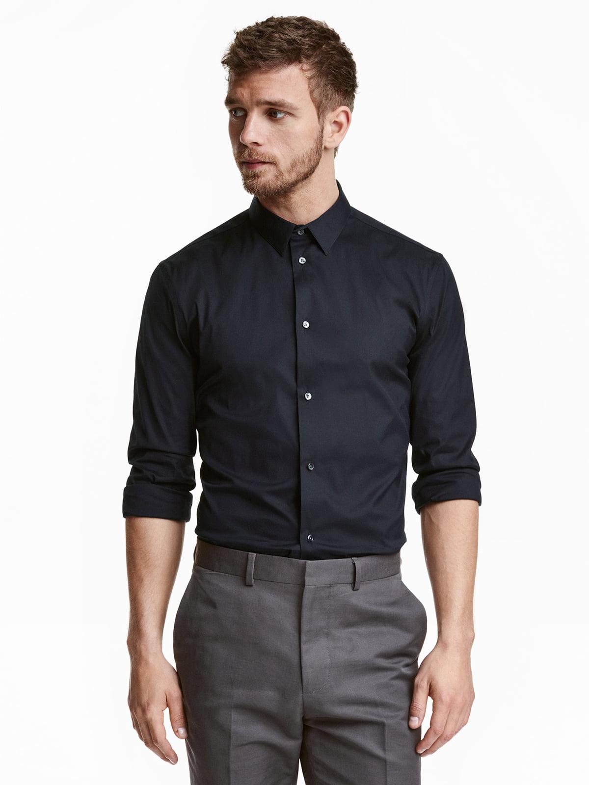 Рубашка черная | 5045051