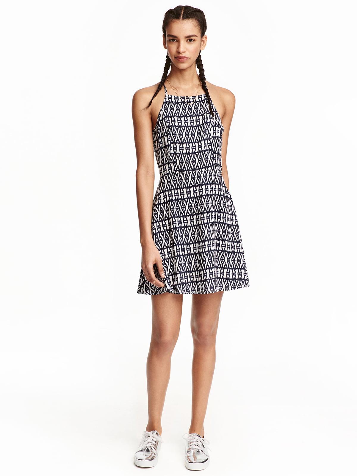 Платье в принт | 5045068