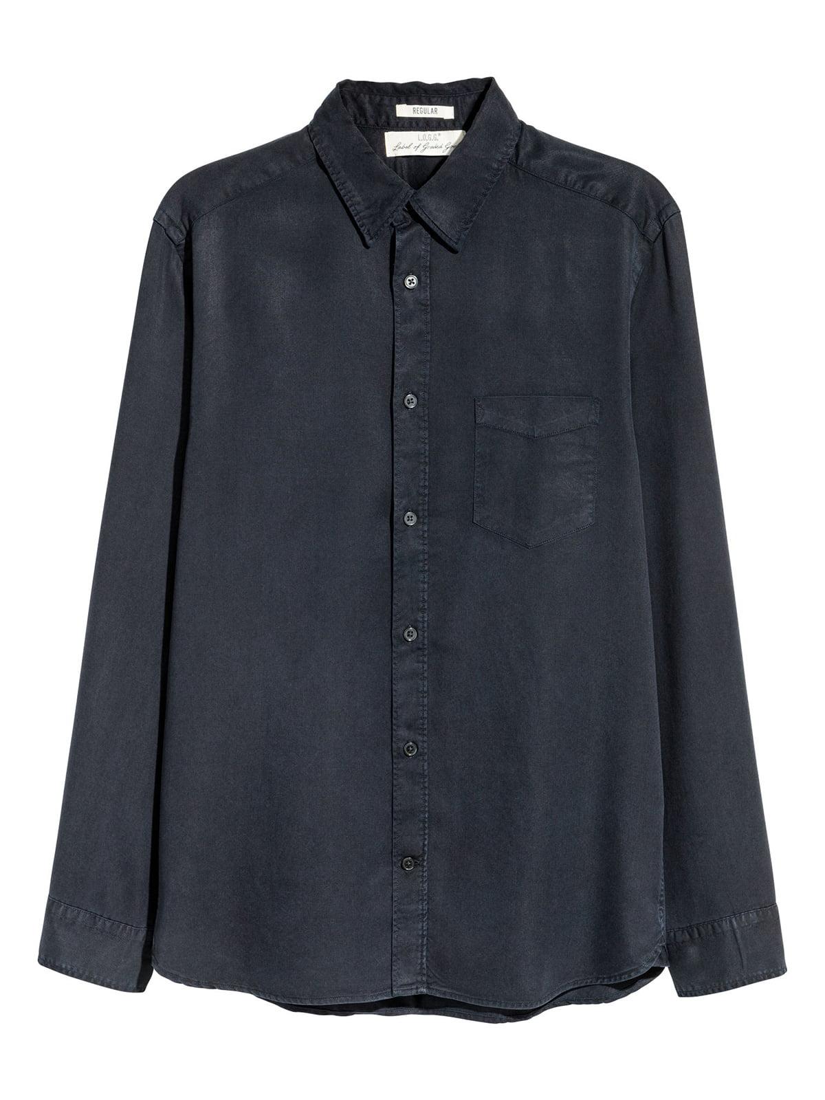Рубашка синяя | 5045195