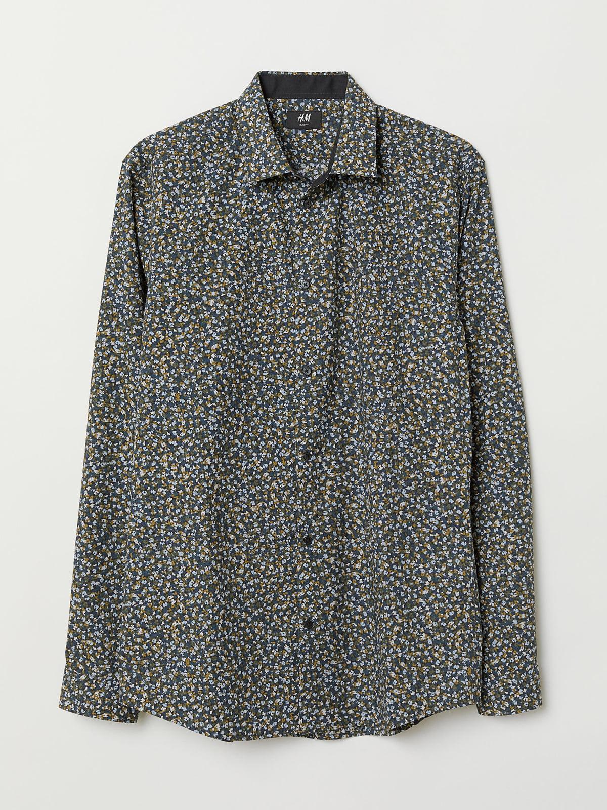 Рубашка в принт | 5045764