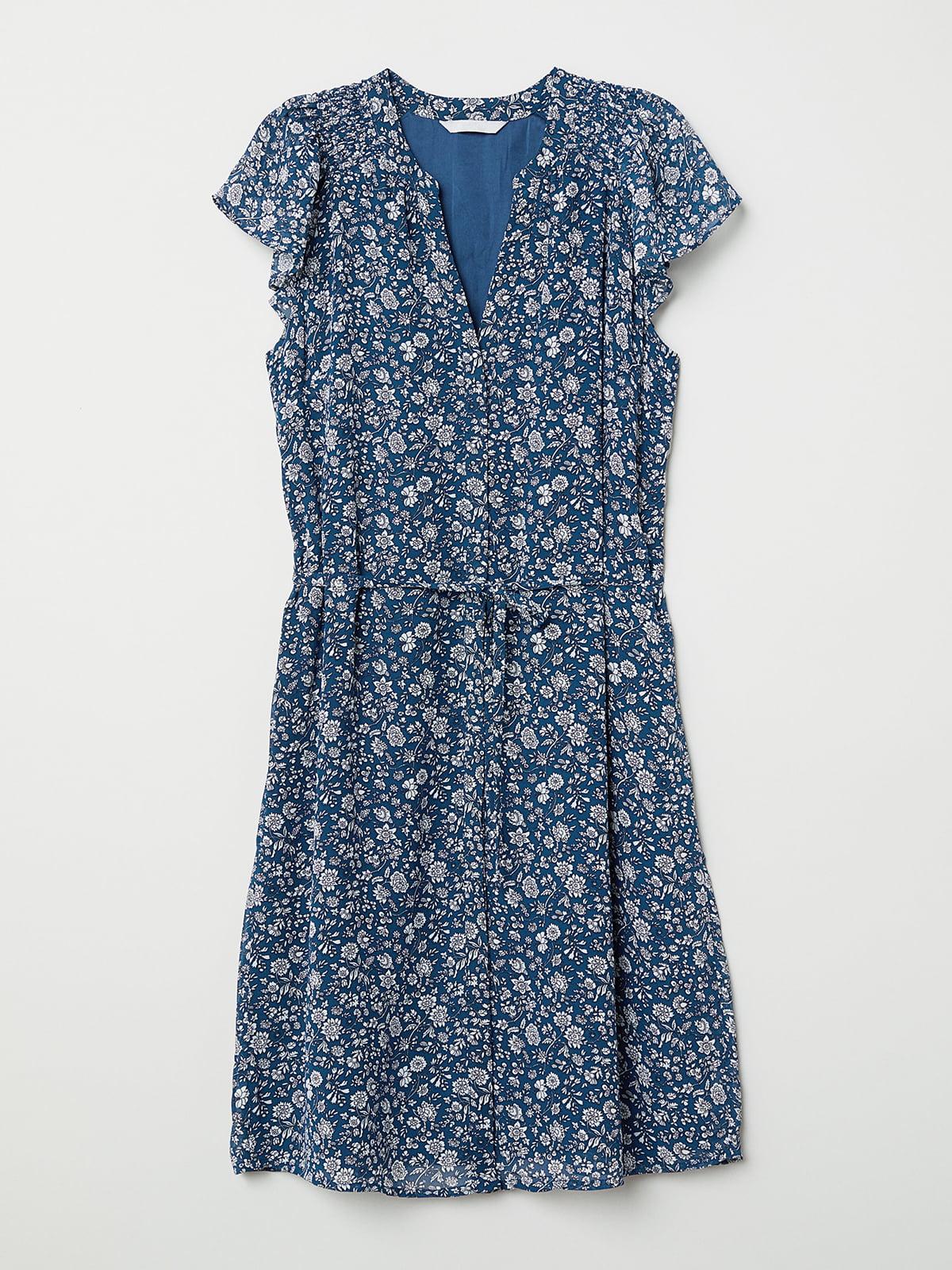 Платье в цветочный принт   5046102