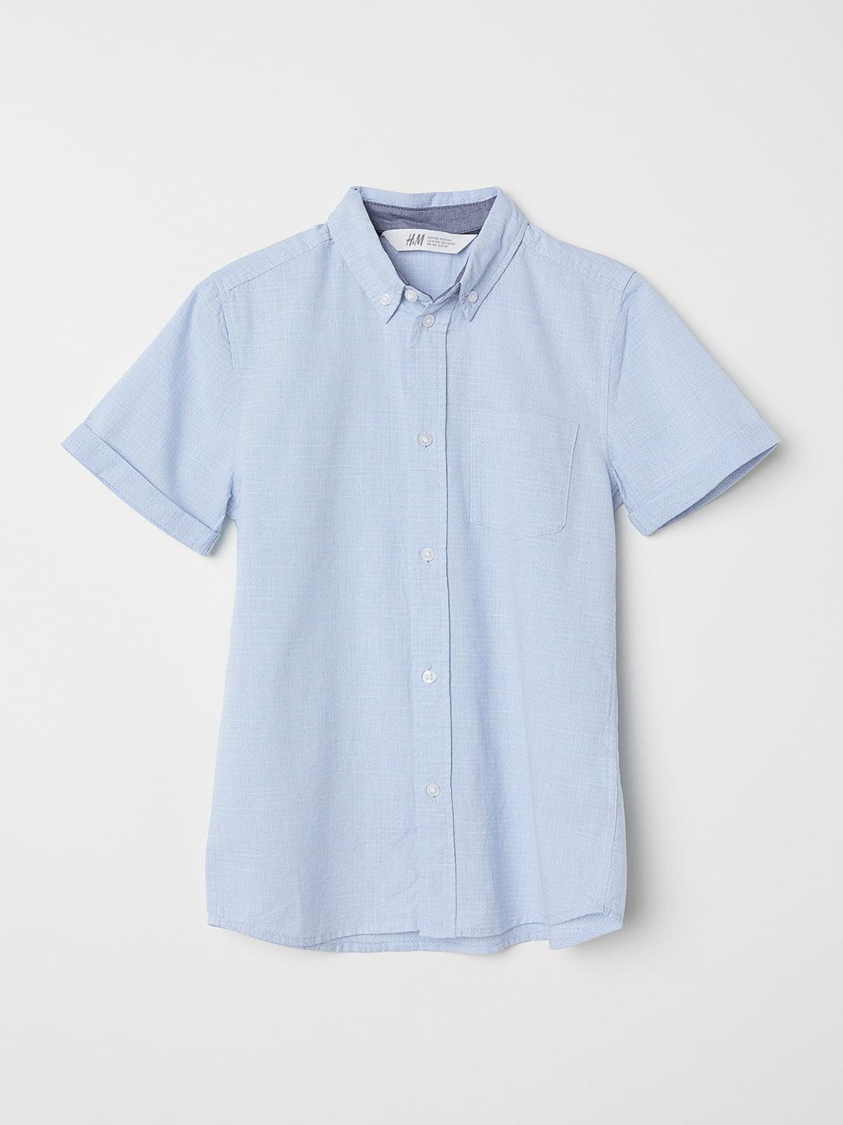 Рубашка голубая | 5046222